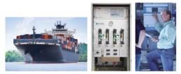 Emissionsmessung auf Schiffen